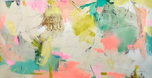 TBC II by Natasha Barnes - Original Painting on Box Canvas
